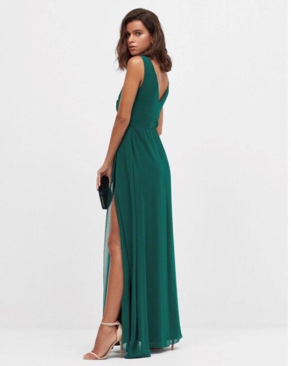Vestido Largo Cora Verde 2