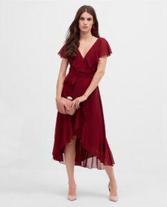 vestido midi ares